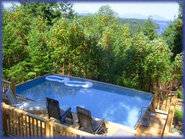 Vancouver Island Vacation Rentals Bc Hot Tub Swimming Pool