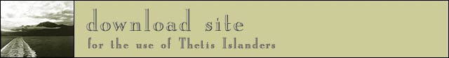 download site for Thetis Islanders